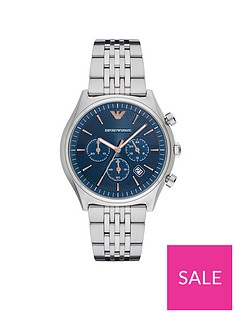 emporio-armani-blue-dial-stainless-steel-bracelet-mensnbspwatch