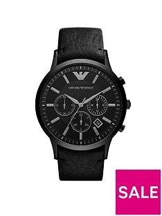 emporio-armani-ar2461nbspblack-chronograph-dial-black-leather-strap-mensnbspwatch