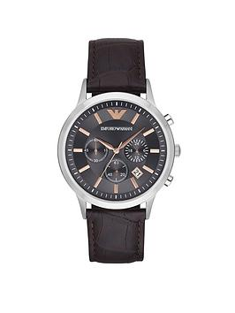 emporio-armani-emporio-armani-stainless-steel-chronograph-leather-strap-gents-watch