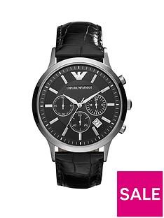 emporio-armani-ar2447nbspchronograph-black-leather-strap-mensnbspwatch