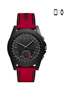 armani-exchange-connected-red-silicone-hybrid-smartwatch