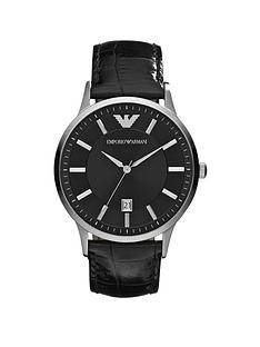 emporio-armani-emporio-armani-stainless-steel-black-leather-strap-gents-watch
