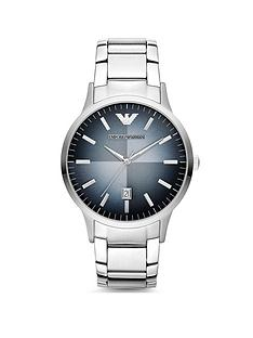 emporio-armani-stainless-steel-blue-degrade-dial-bracelet-gents-watch