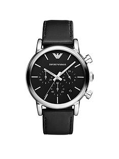 emporio-armani-stainless-steel-case-black-dial-leather-strap-gents-watch
