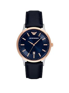 emporio-armani-emporio-armani-rose-gold-stainless-steel-blue-leather-strap-gents-watch