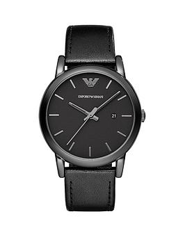 emporio-armani-41mm-black-ip-stainless-steel-case-black-dial-leather-strap-gents-watch