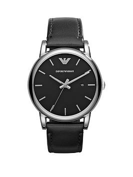 emporio-armani-luigi-stainless-steel-leather-strap-gents-watch