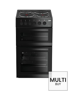 beko-kd533ak-50cm-twin-cavity-electric-cooker-black