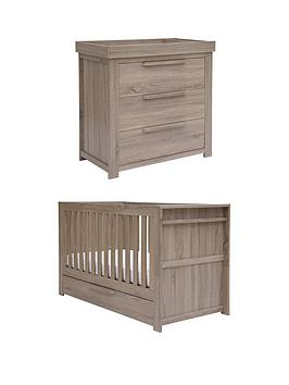 mamas-papas-franklin-cot-bed-and-dresser-changer