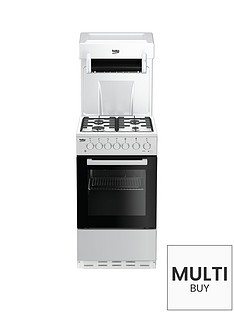 beko-ka52new-50cm-single-oven-with-high-level-grill-gas-cooker-white