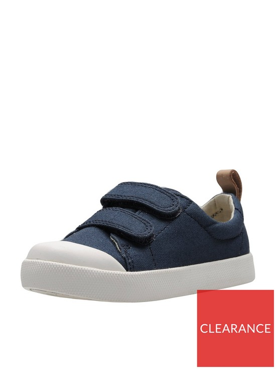 85896ef4d Clarks Baby Boys Halcy High First Shoes - Navy