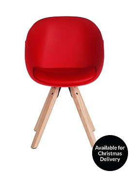 pair-of-pyramid-dining-chairs-red