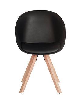 pair-of-pyramid-dining-chairs-black
