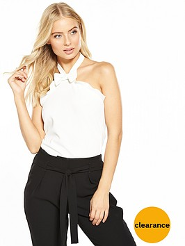 v-by-very-bow-front-halter-neck-top