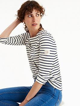joules-harbour-jersey-top-creamnavy-stripe