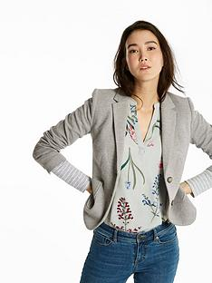 joules-elice-jersey-blazer-light-grey