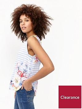 joules-alyse-printed-cap-sleeve-top
