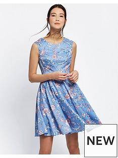 joules-amelie-fit-amp-flare-dress-blue