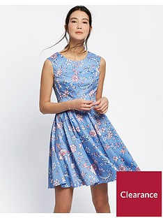 joules-amelie-fit-amp-flare-dress-blue