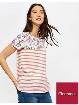 joules-suzy-jersey-woven-mix-t-shirt