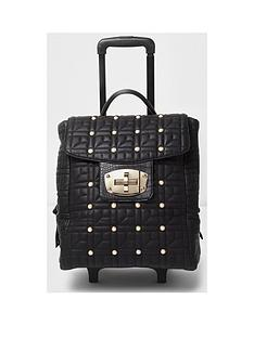 river-island-pearl-and-quilt-2-wheel-cabin-bag
