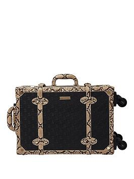 river-island-black-embossed-2-wheel-trunk-case