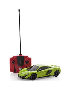124-scale-mclaren-green-remote-control-car