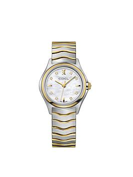 ebel-wave-1216197-mother-of-pearl-dial-diamond-set-real-gold-and-stainless-steel-bracelet-ladies-watch