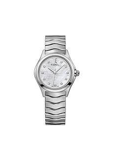 ebel-ebel-wave-dial-diamond-set-stainless-steel-bracelet-ladies-watch