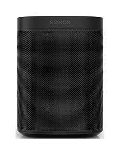 Sonos One Voice-Controlled Smart Speaker with Alexa - Black