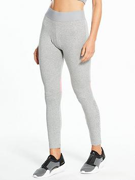 Adidas Basic Linear Tight - Medium Grey Heather