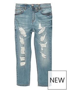 river-island-boys-mid-blue-ripped-dylan-slim-fit-jeans