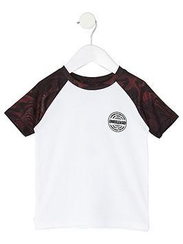 river-island-mini-boys-dark-red-raglan-t-shirt