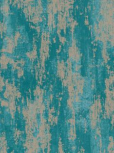 boutique-industrial-texture-turquoise-wallpaper