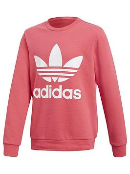 adidas-originals-adidas-originals-adicolor-childrens-trefoil-sweat-top