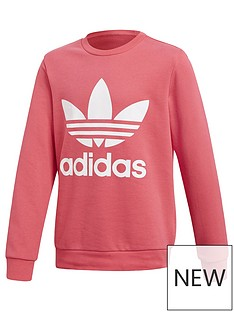 adidas-originals-adidas-originals-childrens-trefoil-sweat-top