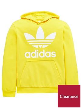 adidas-originals-adicolor-childrens-trefoil-oth-hoodie-yellow