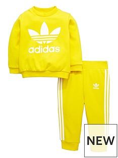 adidas-originals-adidas-originals-adicolor-baby-trefoil-crew-jog-suit
