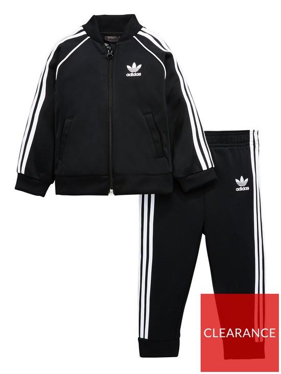 66eb07966 adidas Originals adicolor Baby Boy Superstar Tracksuit