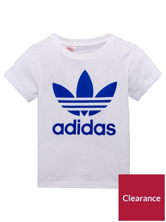 af3a2c79525 ... adidas Originals Younger Boy Trefoil Tee. View larger