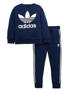 adidas-originals-younger-boy-trefoil-jogsuit