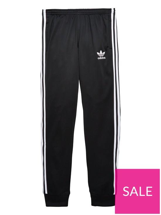 on sale fcd73 f37e3 adidas Originals adicolor Childrens Superstar Track Pant