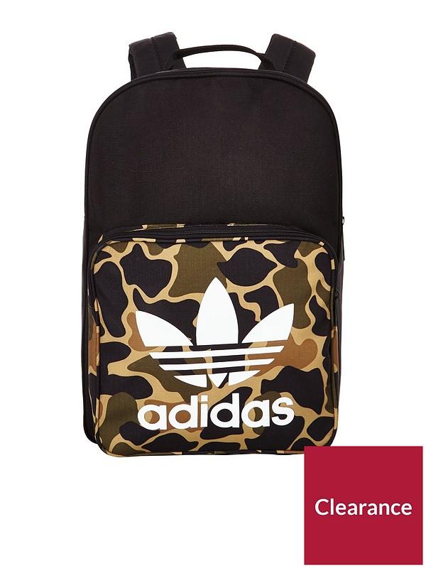50007194a9f adidas Originals Boys Camo Backpack   very.co.uk