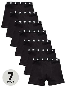 mini-v-by-very-7-pack-plain-black-trunks