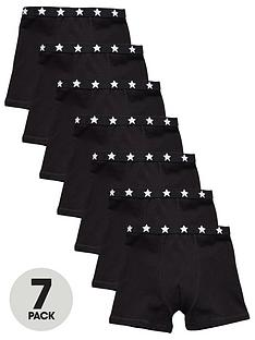 mini-v-by-very-boys-7pk-black-trunks