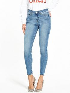 miss-selfridge-push-up-jean-blue