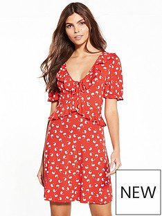 miss-selfridge-miss-selfridge-red-print-jersey-tea-dress