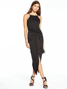 miss-selfridge-miss-selfridge-twist-drape-maxi-dress-black