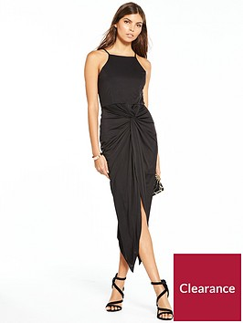 miss-selfridge-miss-selfridge-twist-drape-maxi-dress-black
