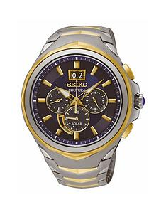 seiko-seiko-blue-dial-2-tone-chronograph-mens-watch